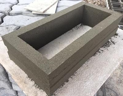 บล็อกช่องลมลายสี่เหลี่ยมผืนผ้า ขนาด 39x10x9 cm