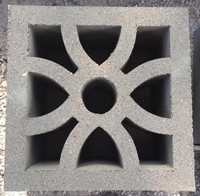 บล็อกช่องลมลายฟลาวเวอร์ ขนาด 19x19x9 cm