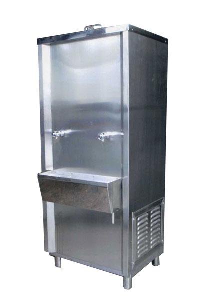 ตู้ทำน้ำเย็นแบบต่อท่อ 2 หัวก๊อก