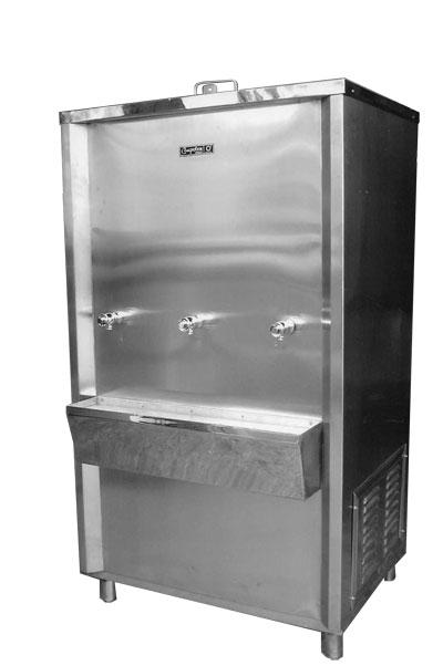 ตู้ทำน้ำเย็นแบบต่อท่อ 3 หัวก๊อก