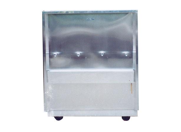 ตู้ทำน้ำเย็นแบบต่อท่อ 4 หัวก๊อก