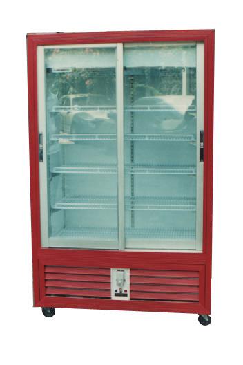 ตู้แช่เย็น No forst 2 ประตู ขอบคิ้วสี