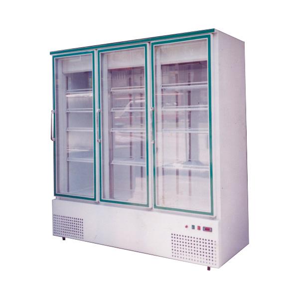 ตู้แช่เย็น No forst 3 ประตู ขอบคิ้วสี