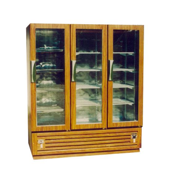 ตู้แช่เย็น No forst 3ประตู (ลายไม้)