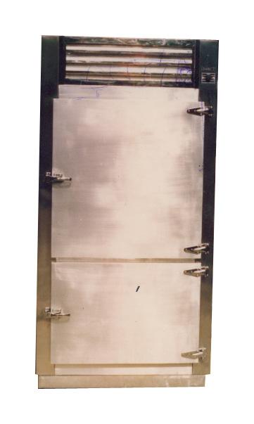 ตู้แช่เย็นแสนเลสแบบยืน 2 ประตู ฝาทึบ ขนาด S