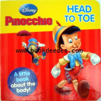 Pinocchio HEAD TO TOE A liitle Book about the body!
