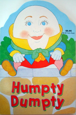 นิทานเพลงกลอน บอร์ดบุ๊ค Humpty Dumpty
