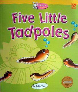 นิทานอ่านสนุก Five Little Tadpole