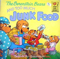 นิทานภาษาอังกฤษ The Berenstain Bears AND TOO MUCH JUNK FOOD