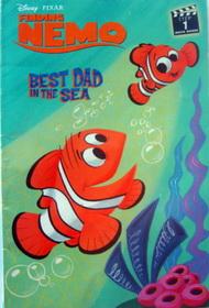 หนังสือเด็กLevel Book 1 Finding Nemo. Best Dad in the Sea