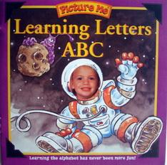 หนังสือเด็ก Picture Me Learning Letters ABC