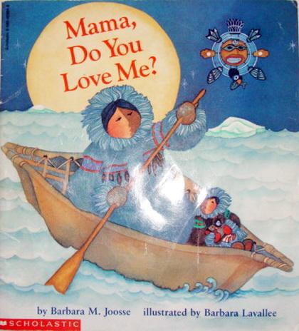 นิทานเด็ก สื่อรัก Mama, Do You Love Me ปกอ่อน