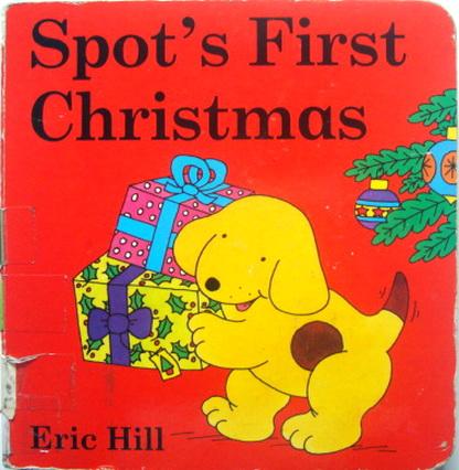 นิทานบอร์ดบุ๊ค Spot\'s First Christmas