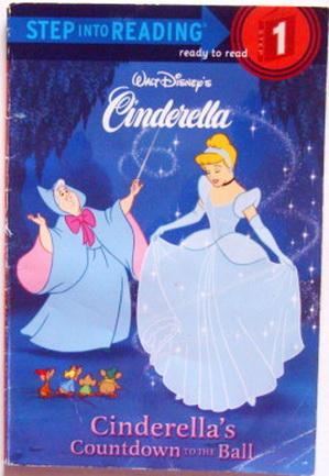 นิทานภาษาอังกฤษฝึกอ่าน step1 Cinderella