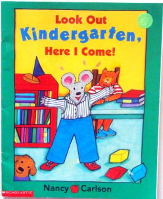 นิทานเตรียมไปโรงเรียน Look Out Kindergarten Here I Come