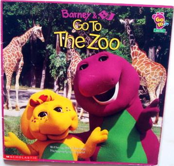 นิทานเด็ก Barney Barney  BJ Go to The Zoo