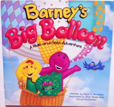 นิทานเด็ก Barney  Barney\'s Big Balloon