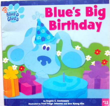 นิทานเด็ก Blue Clue Blues Big Birthday