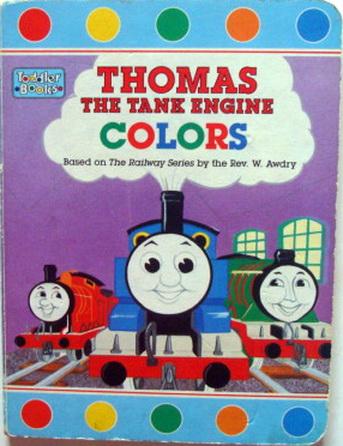 หนังสือภาพ Thomas Thomas the Tank Engine COLORS