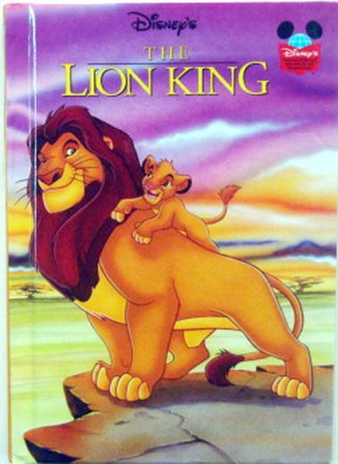 นิทานเด็ก DisneyTHE LION KING ปกแข็ง