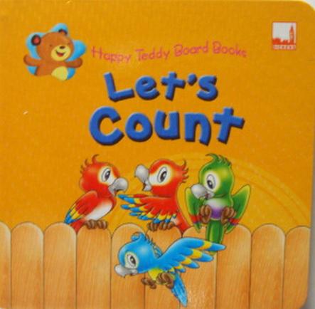 Happy Teddy Board Book Lets Count