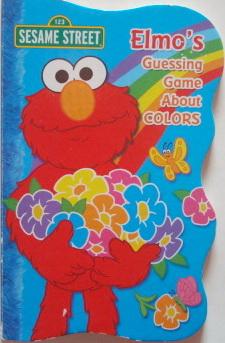 หนังสือเด็ก Elmo Guessing Game About Color