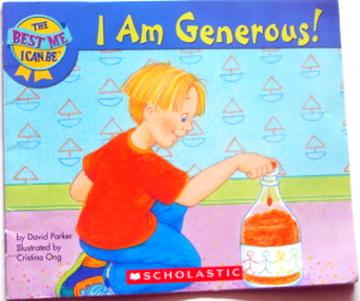 หนังสือเด็ก สอนEQ I am Generous