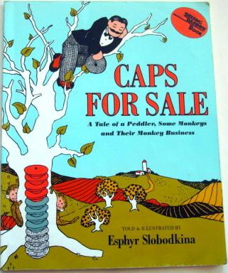 หนังสือเด็ก CAPS FOR SALE มีหมวกมาขายจ้า