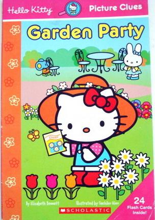 หนังสือเด็กฝึกอ่าน Hello Kitty Garden Party
