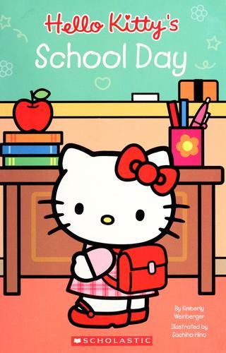 หนังสือเด็กฝึกอ่าน Hello Kitty School Day