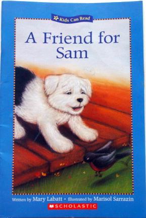 หนังสือเด็กฝึกอ่าน A Friend for Sam