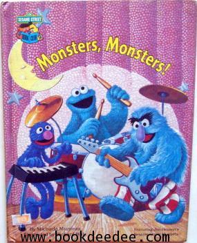 หนังสือเด็ก Elmo Monster Monster