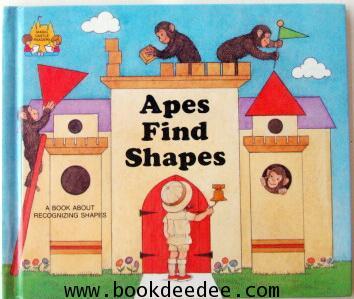 หนังสือเด็ก Apes Find Shapes