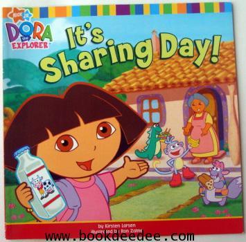 หนังสือเด็ก Dora Sharing Day