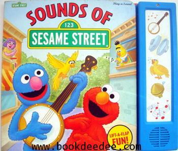 หนังสือเด็ก กดมีเสียง Elmo Sound of Sesame Street
