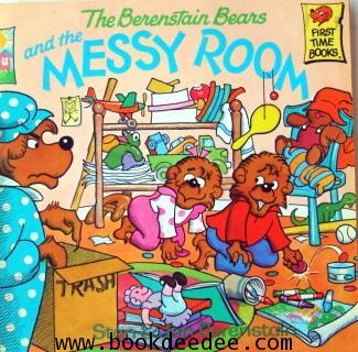 หนังสือเด็ก The Barenstein Bear and the MESSY ROOM