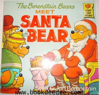 หนังสือเด็ก The Berenstain Bear meet SANTA BEAR