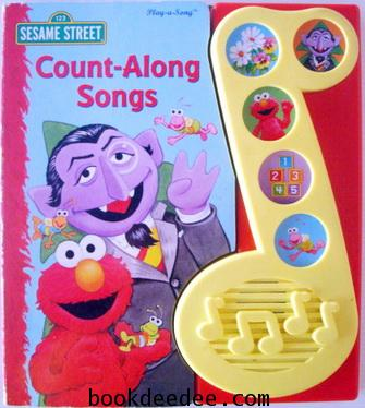 หนังสือเด็กกดมีเสียง Elmo Elmo Count Along Song