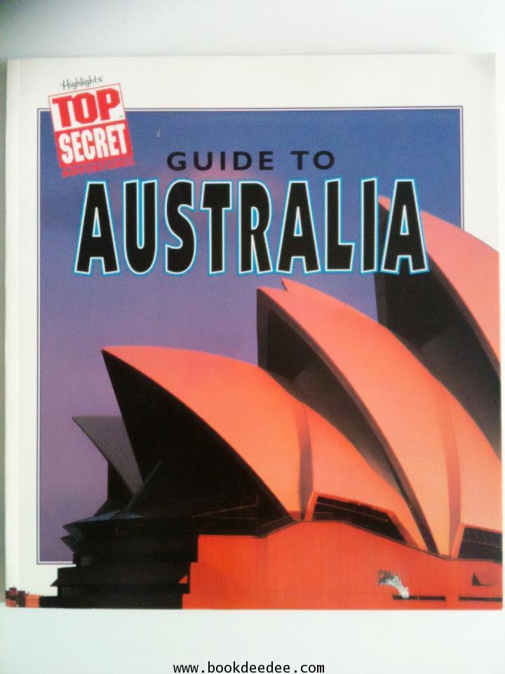 หนังสือเด็กความรู้ Top Secret Guide to Australia