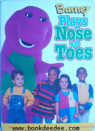 หนังสือเด็ก บอร์ดบุ๊ค Barney Plays Nose to Toes