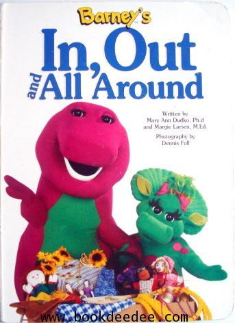 หนังสือเด็ก บอร์ดบุ๊ค Barney In Out and All Around
