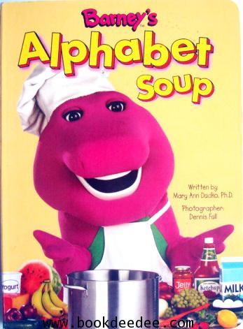 หนังสือเด็ก บอร์ดบุ๊ค Barney Alphabet Soup