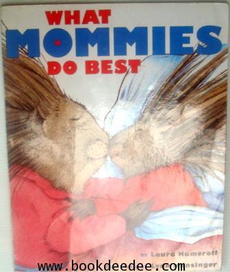 หนังสือเด็ก WHAT MOMMIES DADDIES DO BEST