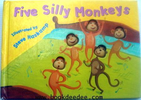 หนังสือเด็ก Five Silly Monkeys