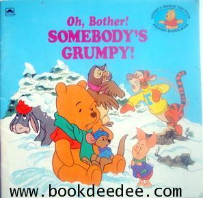 หนังสือเด็ก Winnie the Pooh Oh Bother Somebody Grumpy