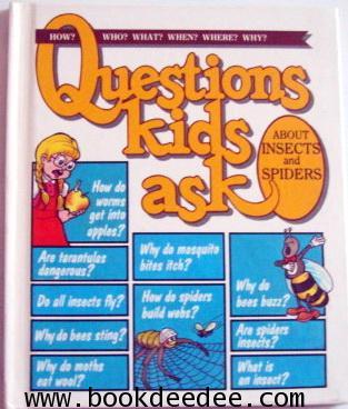 หนังสือเด็ก ความรู้รอบตัวQuestions Kids ask ABOUT INSECTS and SPIDERS