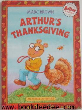 หนังสือเด็ก Arthur Thanksgiving
