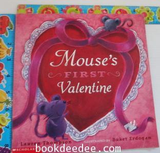 นิทานเด็กภาษาอังกฤษ Mouse first Valentine