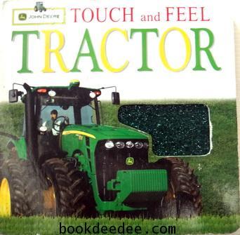 หนังสือเด็กบอร์ดบุ๊ค Touch and Feel  TRACTOR
