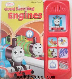 หนังสือกดมีเสียง THOMAS and FRIEND Good Morning Engines